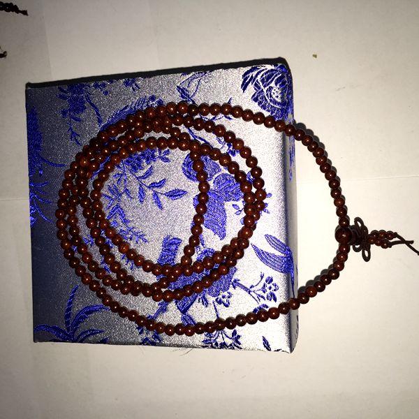 苏州伟和乐器厂直销印度金丝老紫檀 女士手珠0.4型号
