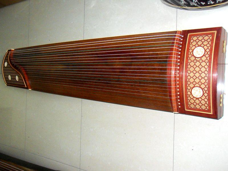 礼和牌古筝 蕉窗夜语高档演奏 古筝 考级红木古筝专用琴 包邮