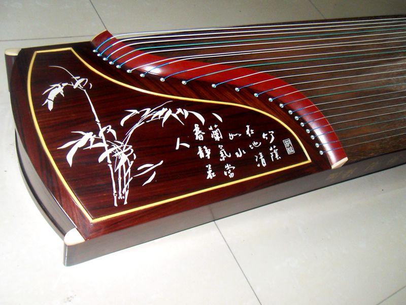 苏州伟和乐器厂 直销 红木刻字 专业古筝学习古筝 质量保证 包邮