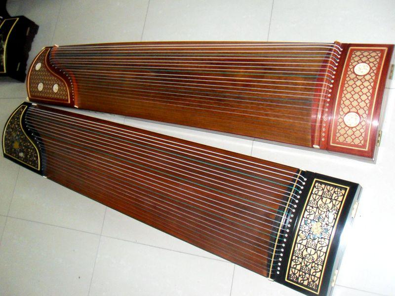 礼和牌古筝 蕉窗夜语高档演奏 古筝 考级红木古筝专用琴